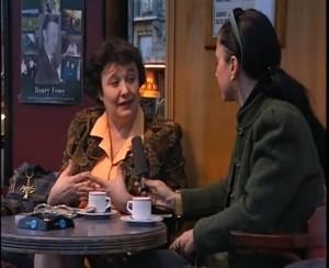 Cleopatra Lorinţiu şi Clara Mărgineanu interviu Paris2003