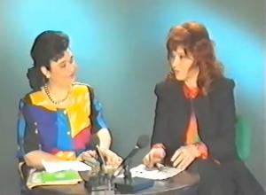 Cleopatra Lorinţiu şi Smaranda Jelescu. emisiune tv