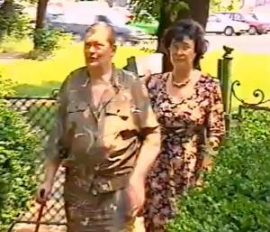 Prinţesa Alexandra Caragea(Tanda Caragea ) şi Cleopatra Lorinţiu 1996