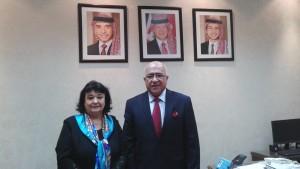 cu senatorul Moussa Maytah