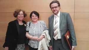 Cleopatra lorintiu, moderateur Pierr Boussel ,Noha Rashmawi