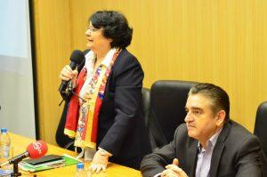 Ion Marin decan Hyperion şi Cleopatra Lorintiu Simpozion libertatea presei 3 martie 2015