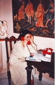 Florentina Mosora in casa din Liege