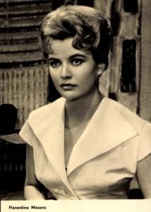 Florentina Mosora, actriţă