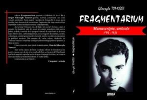 coperta_fragmentarium_ gheorghe_ tomozei