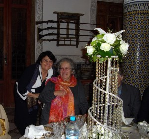 cu Danielle Cabanis, Fez 2011