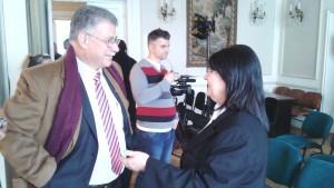 cu Musa ABUGHARBIYEH 24 martie Bucureşti