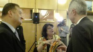 Cleopatra Lorintiu si E.S: Hans Klemm, Ambasadorul SUA în România , 2016