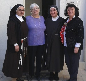 cu sora Khalida si sora Wardeh la aşezamintul St Vincent de Paul Jordanie