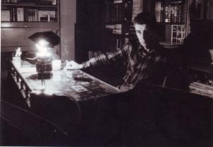 foto 1 iarna anului 1987 in Clucer Udricani fotografie de Maier