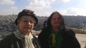 Viloria Rawood si Margareta Demetrescu la Amman, noiembrie 2015