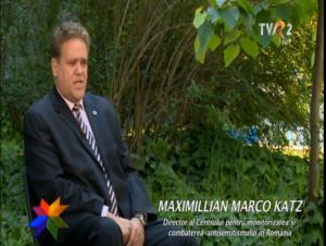 Maximilian Katz in emisiunea Dreptul la amintire