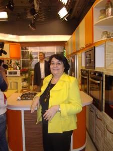 Cleopatra Lorintiu  la SamanyoluTV Istanbul 2013februarie