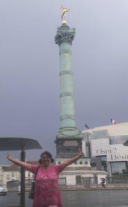 La Colonne de Juillet ,Place de la Bastille