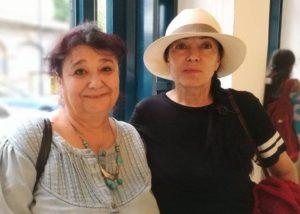 Dora Stănescu și Cleopatra Lorințiu ,2016,București